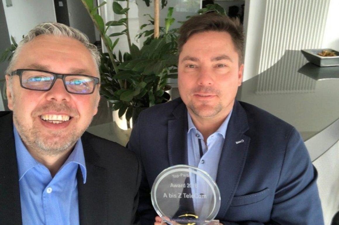 A bis Z TeleCom Bielefeld - Partner Award 2018 Deutsche Telefon